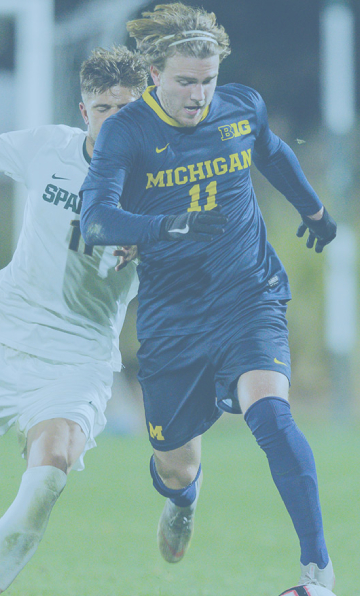 Jack Hallahan, University of Michigan, Soccer Chance Academy